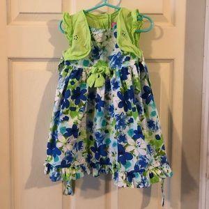 Toddler dress, EUC
